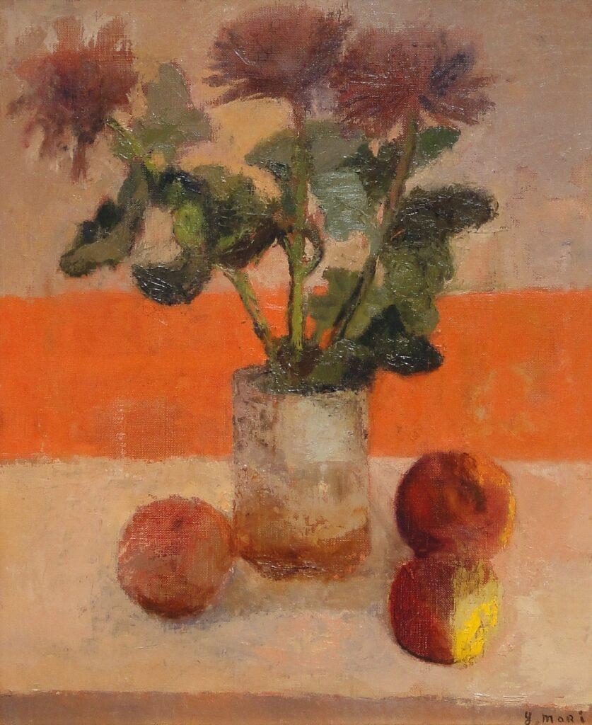 森芳雄「菊と果実」